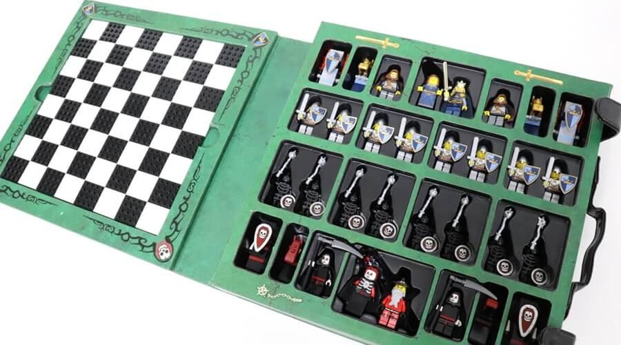 LEGO キャッスル チェスについての画像レビューです。